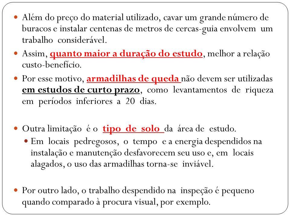A utilização de armadilhas fotográficas em pesquisas no Brasil podem ser consideradas recentes, sendo empregadas na: amostragem qualitativa de mastofauna, na realização de estudos populacionais e como ferramenta complementar na obtenção de dados ecológicos.