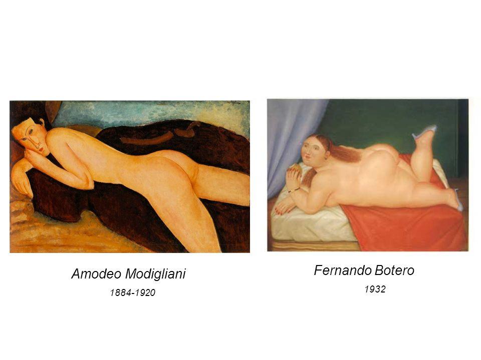 Amodeo Modigliani 1884-1920 Fernando Botero 1932