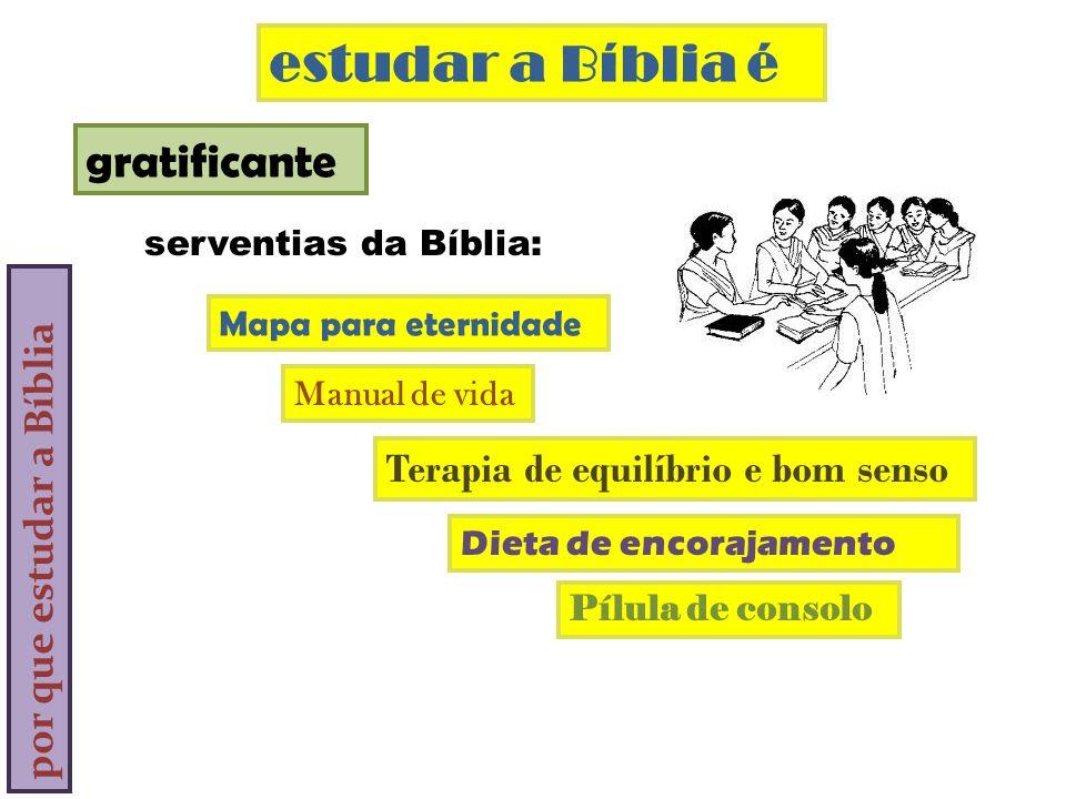 estudar a Bíblia é por que estudar a Bíblia gratificante serventias da Bíblia: Mapa para eternidade Manual de vida Terapia de equilíbrio e bom senso D
