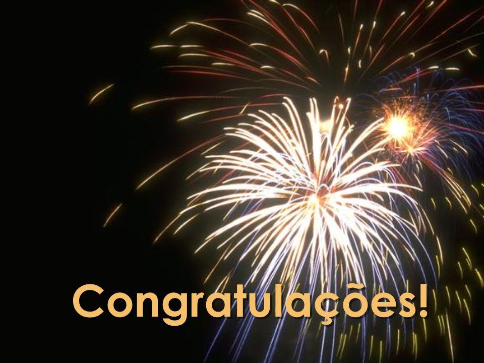 Congratulações!