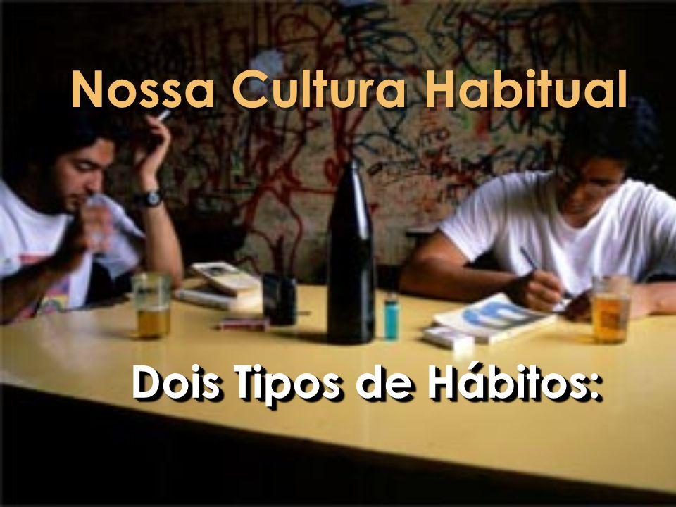 Nossa Cultura Habitual Dois Tipos de Hábitos: