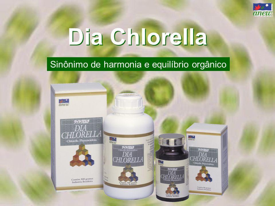Dia Chlorella Sinônimo de harmonia e equilíbrio orgânico