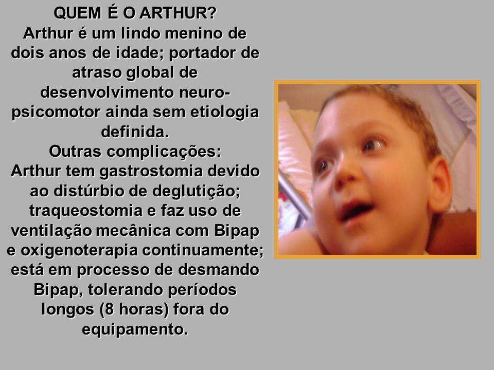 ARTHURZINHO Por favor, ajude-nos a ajudá-lo! QUEM É QUE LHE BATE À PORTA? Somos um grupo de amigos que se uniu em torno do Arthur e de sua família par