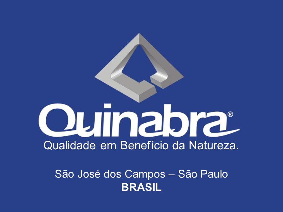 São José dos Campos – São Paulo BRASIL Qualidade em Benefício da Natureza.