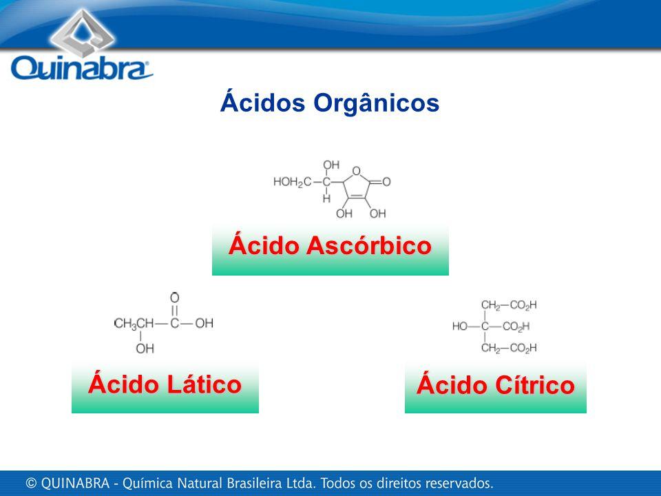 Ácido Lático Ácido Cítrico Ácido Ascórbico Ácidos Orgânicos