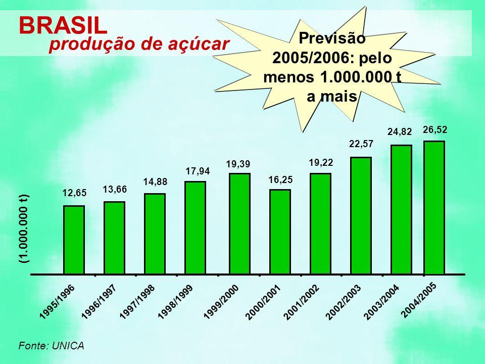 BRASIL 12,65 13,66 14,88 17,94 19,39 16,25 19,22 22,57 24,82 2004/2005 1995/19961996/19971997/19981998/19991999/20002000/20012001/20022002/20032003/20