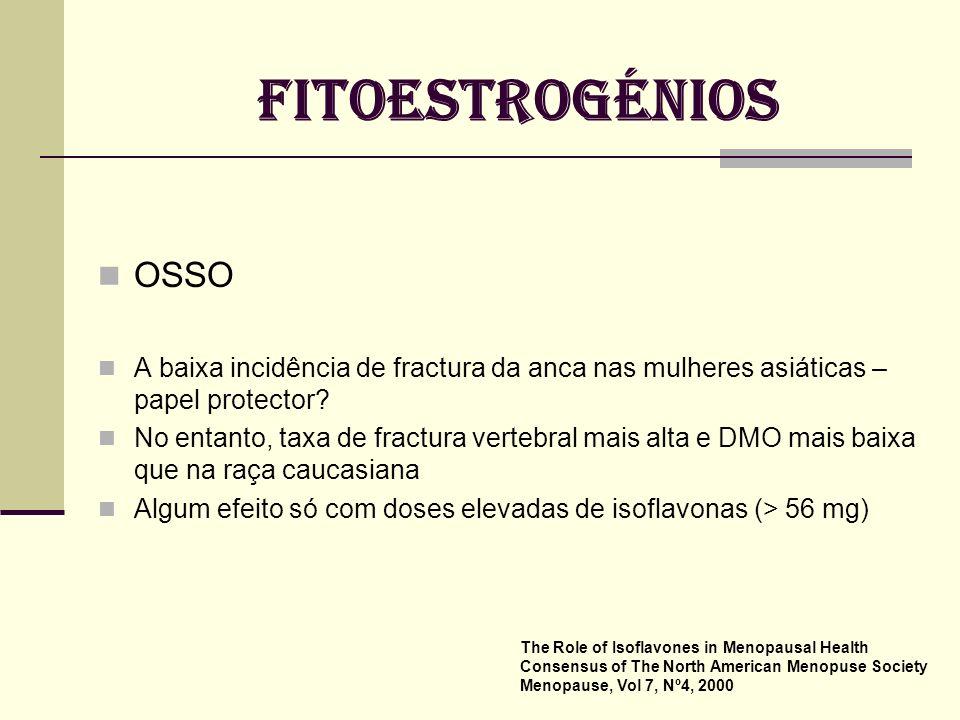 ISOFLAVONAS Genisteína Daidzeína Gliciteína Biocanina A LIGNANS COUMESTANS FITOESTROGÉNIOS The Role of Isoflavones in Menopausal Health Consensus of T