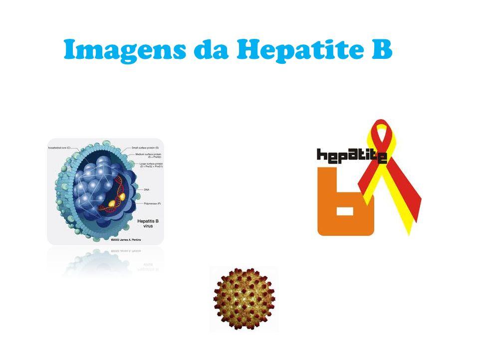 Imagens da Hepatite B