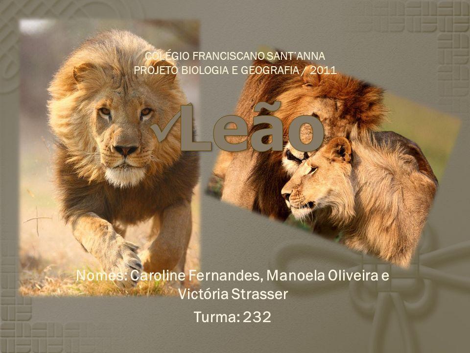 Nomes: Caroline Fernandes, Manoela Oliveira e Victória Strasser Turma: 232 COLÉGIO FRANCISCANO SANTANNA PROJETO BIOLOGIA E GEOGRAFIA / 2011