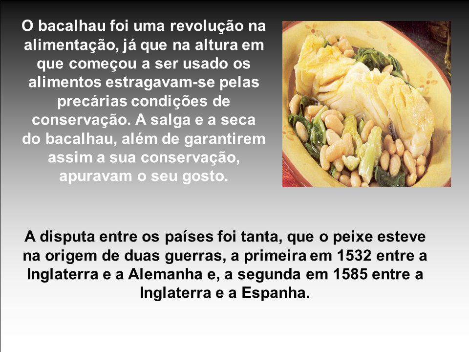 Actualmente Portugal importa cerca de 90% do bacalhau que consome, grande parte dele já salgado e seco.