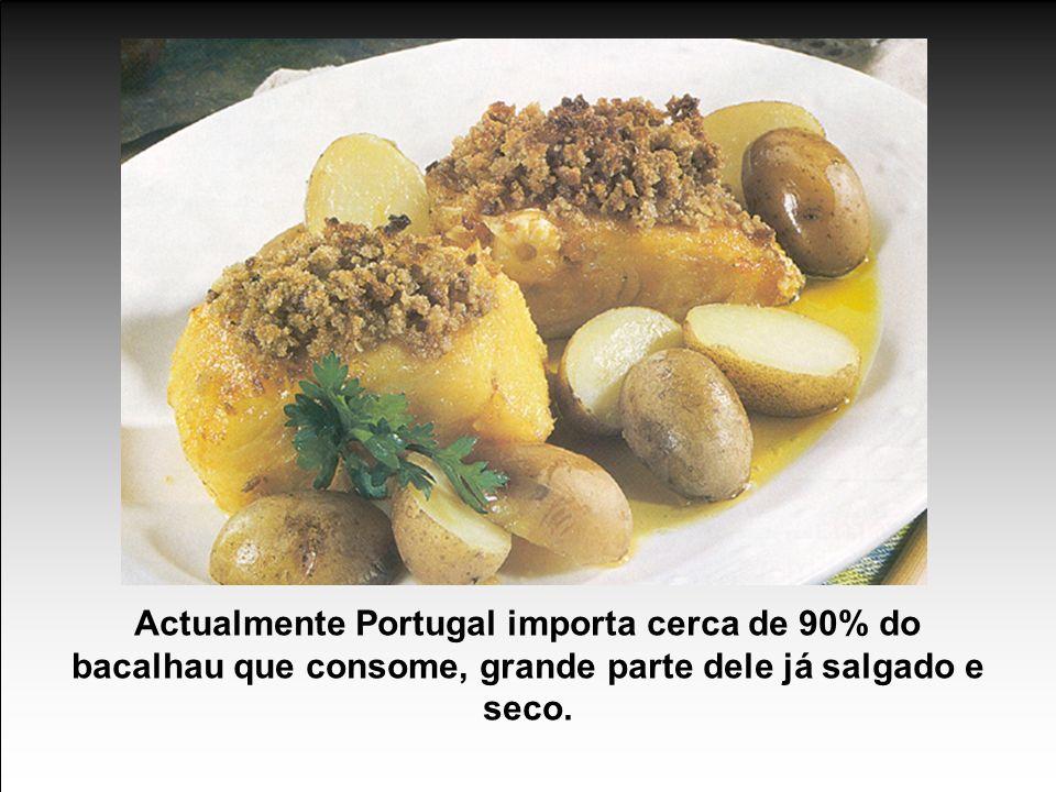 O bacalhau salgado e seco é dos alimentos mais completos, já que conserva toda a qualidade do peixe fresco.