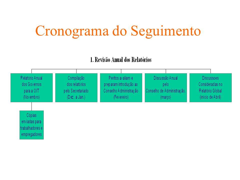 Cronograma do Seguimento