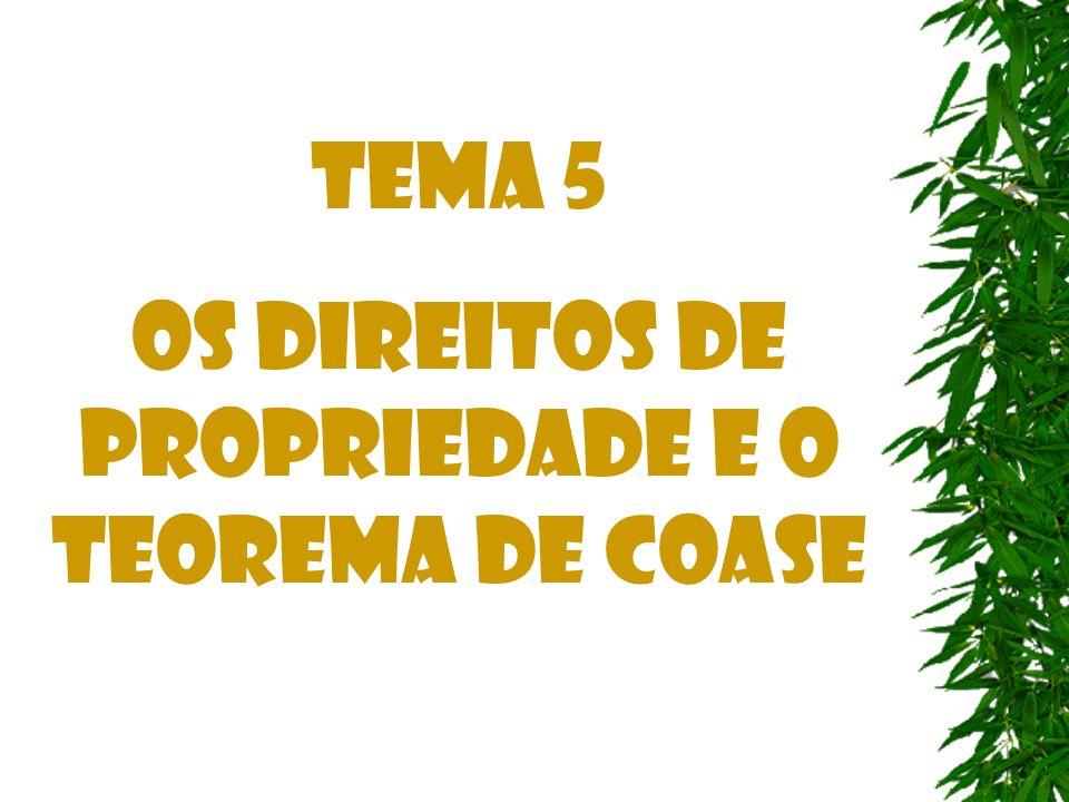 Críticas ao Teorema de Coase 3.