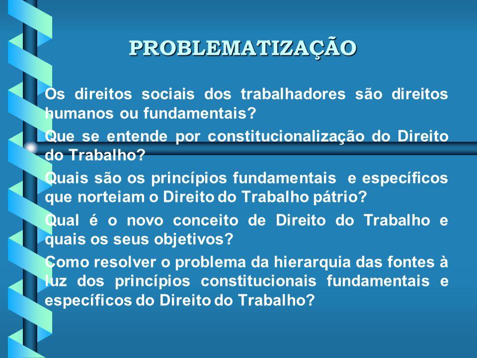 Nova Principiologia Jurídica no Direito do Trabalho Carlos Henrique Bezerra Leite Doutor e Mestre em Direito (PUC/SP) Professor Associado de Direitos