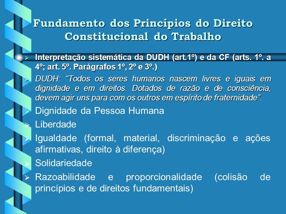 Outras Funções dos Princípios b bprestigiam a verdadeira segurança jurídica, pois tanto a atividade legislativa quanto a judicante ficam vinculadas (c