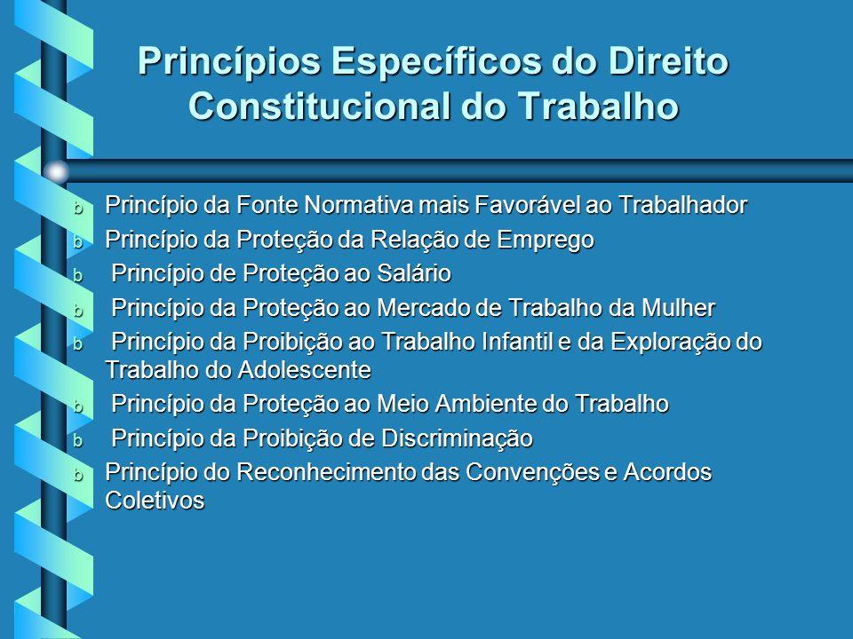 Princípios Gerais do Direito do Constitucional do Trabalho b b Inviolabilidade à intimidade, à vida privada, à honra e à imagem, com direito a indeniz