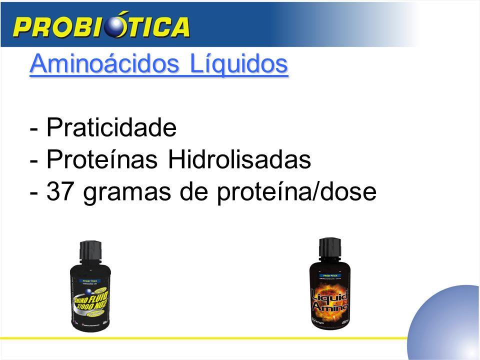 Aminoácidos Líquidos Aminoácidos Líquidos - Praticidade - Proteínas Hidrolisadas - 37 gramas de proteína/dose