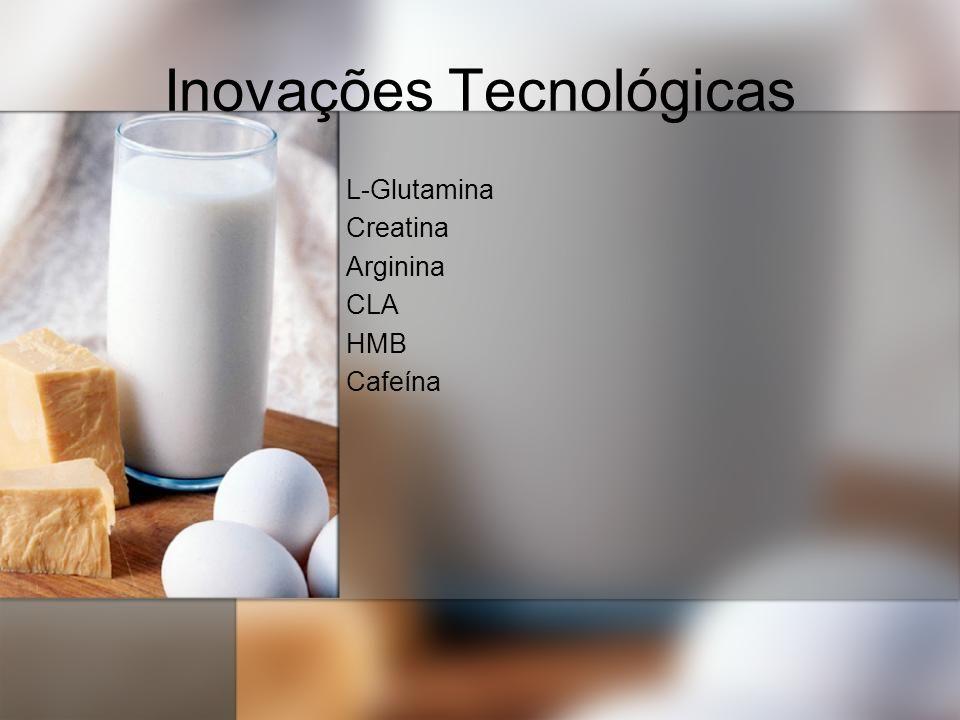 Inovações Tecnológicas L-Glutamina Creatina Arginina CLA HMB Cafeína