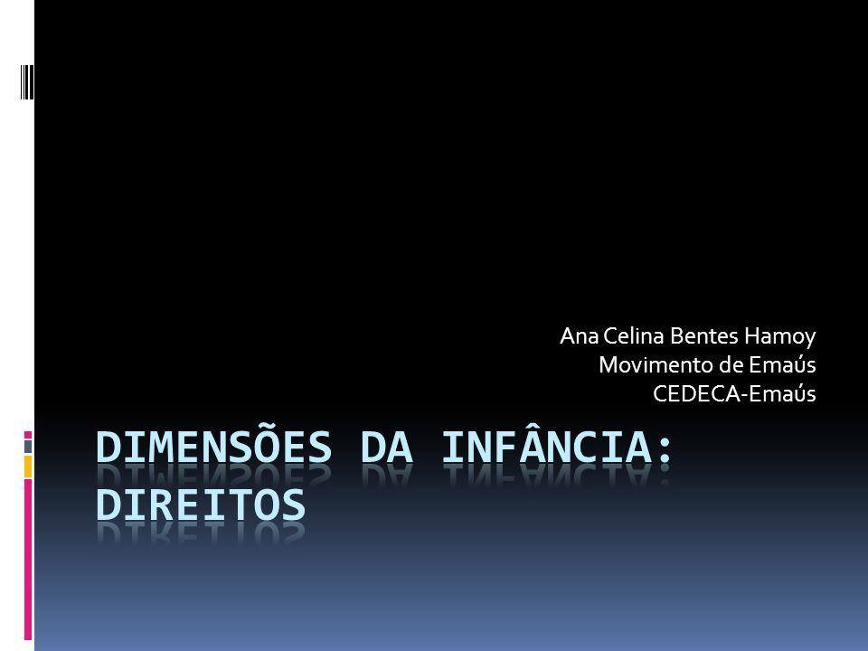Ana Celina Bentes Hamoy Movimento de Emaús CEDECA-Emaús