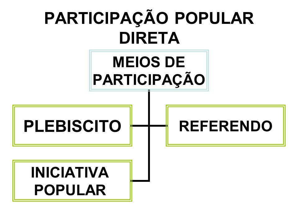 DIREITOS E GARANTIAS FUNDAMENTAIS CLASSIFICAÇÃO INDIVIDUAISSOCIAIS COLETIVOSNACIONALIDADE POLÍTICOS PARTIDOS POLÍTICOS