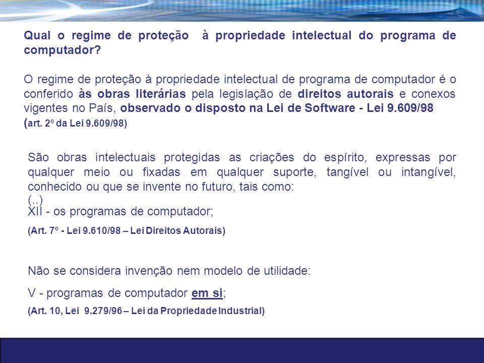 Licenciamento de software Art.