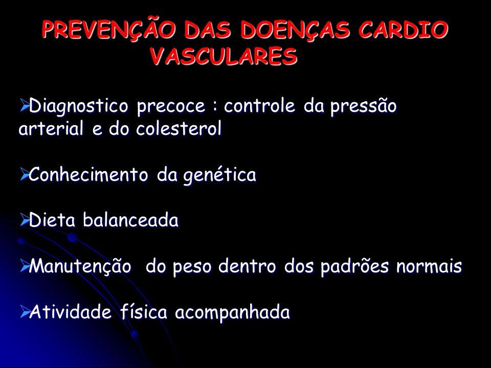 Diagnostico precoce : controle da pressão arterial e do colesterol Diagnostico precoce : controle da pressão arterial e do colesterol Conhecimento da