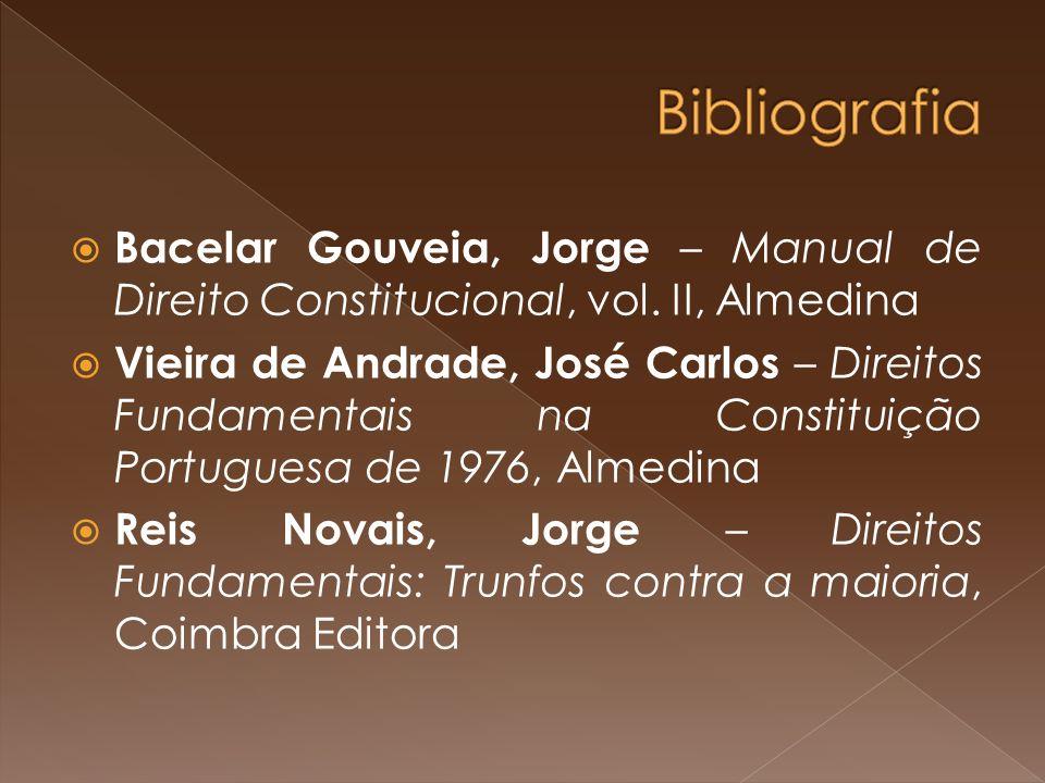 Bacelar Gouveia, Jorge – Manual de Direito Constitucional, vol.