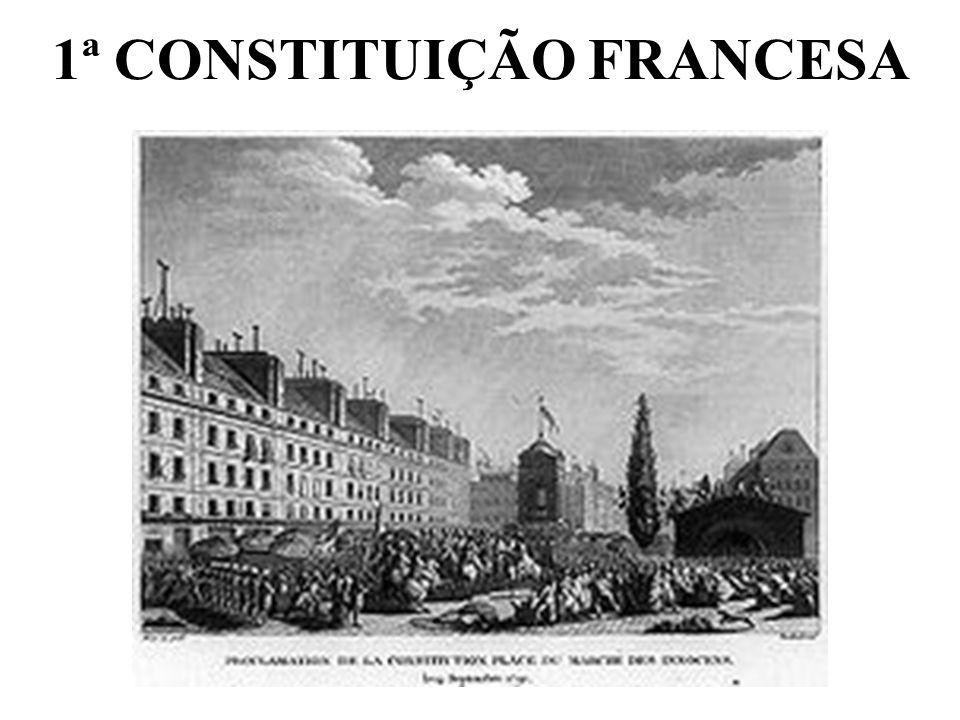1ª CONSTITUIÇÃO FRANCESA