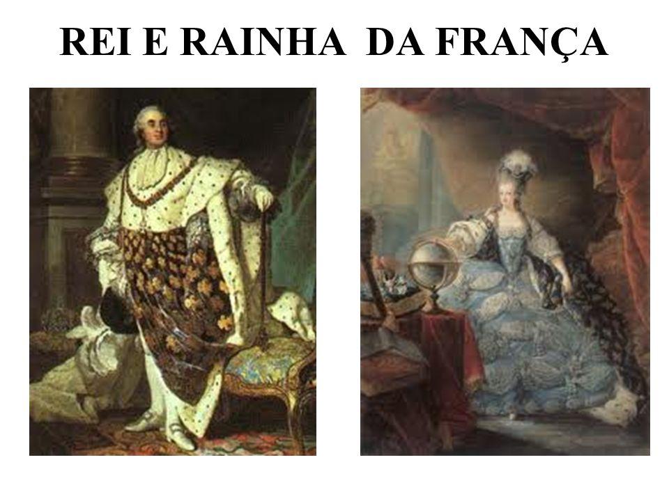 REI E RAINHA DA FRANÇA