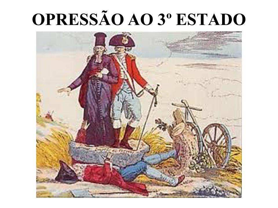OPRESSÃO AO 3º ESTADO