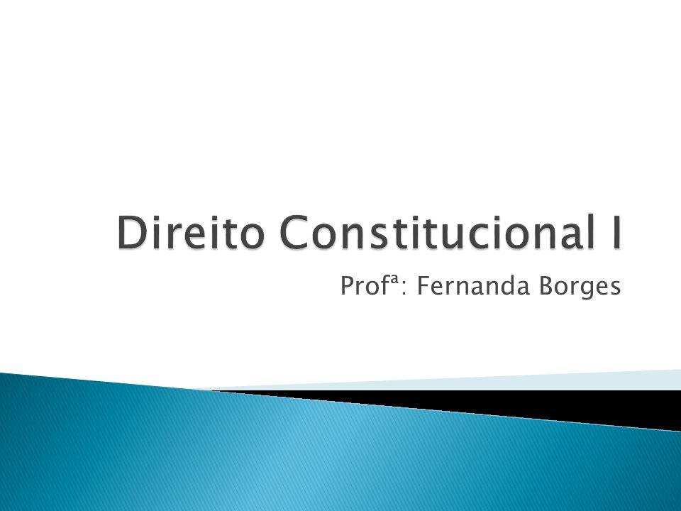 Profª: Fernanda Borges