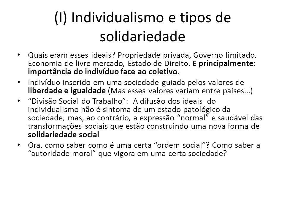 (II) Como estudar os tipos de solidariedade.Através da análise dos Códigos Jurídicos dos países.
