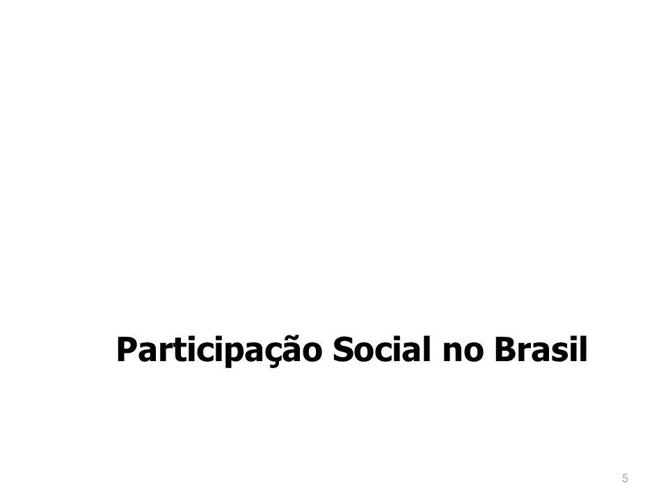 5 Participação Social no Brasil