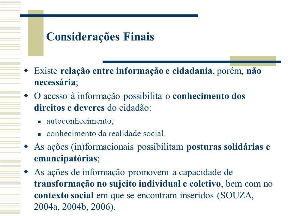 Referências SOUZA, Edivanio Duarte de.