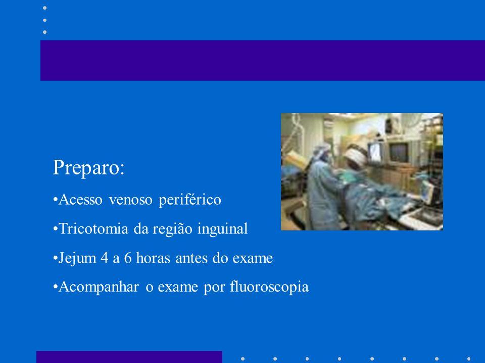 Arteriografia de carótida Arteriografia renal