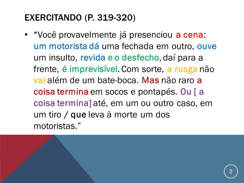 EXERCITANDO (P.
