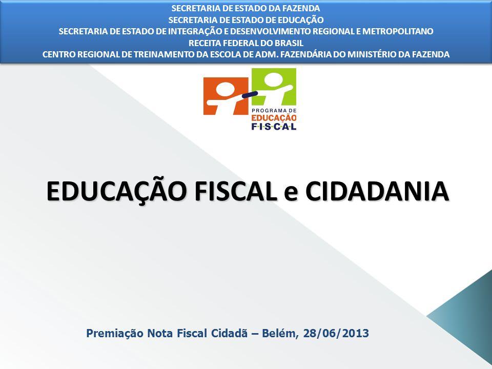 Grupo Estadual de Educação Fiscal CIDADANIA Serve para validar ações individuais e coletivas, principalmente iniciativas de governos, corporações, organizações e movimentos sociais.