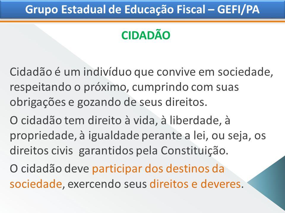 OBRIGADA!!! Altair de Fátima Capela Sampaio \ PARÁ Grupo Estadual de Educação Fiscal-GEFI/PA