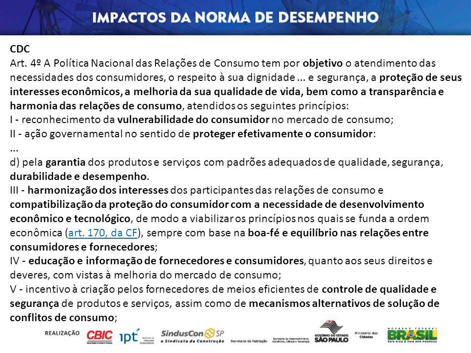 CDC Art. 4º A Política Nacional das Relações de Consumo tem por objetivo o atendimento das necessidades dos consumidores, o respeito à sua dignidade..