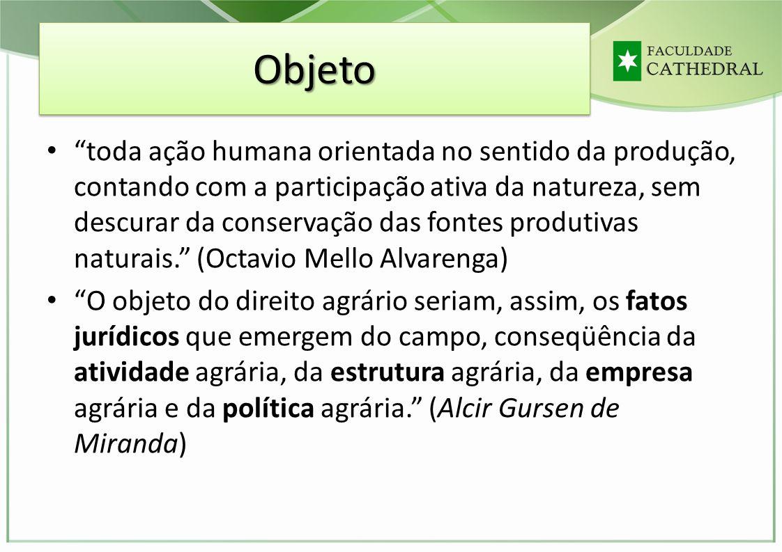 AutonomiaAutonomia - Legislativo:.Art 8º, XVII, b, CF - competência da União direito agrário..