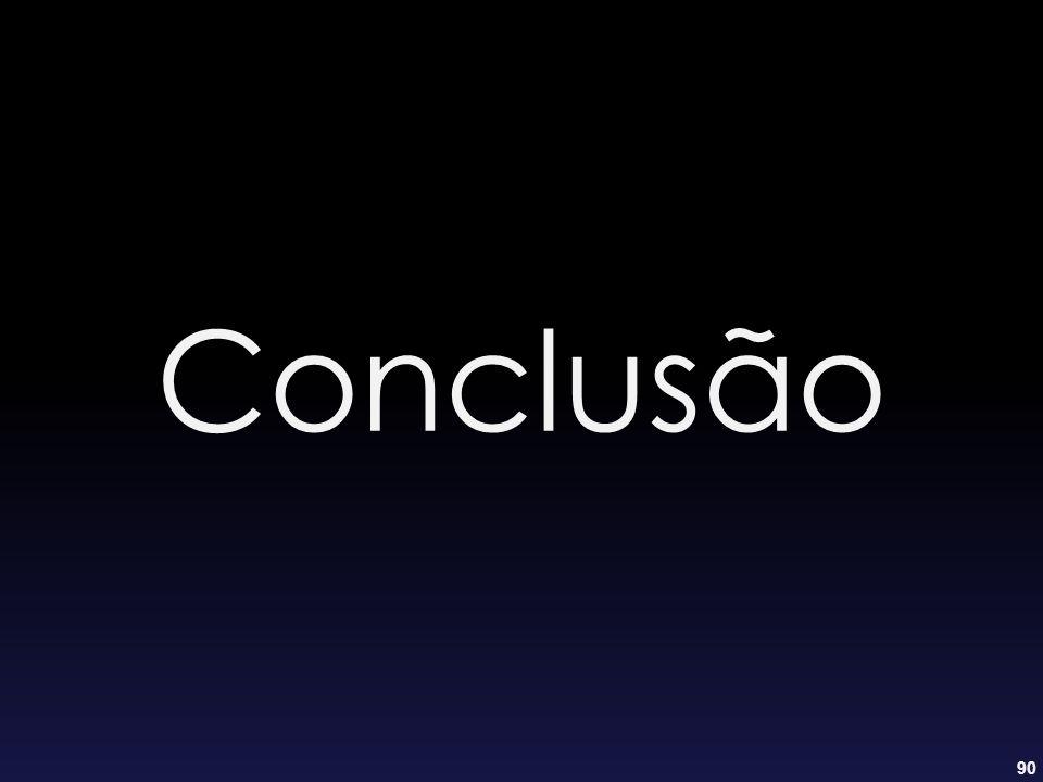 90 Conclusão