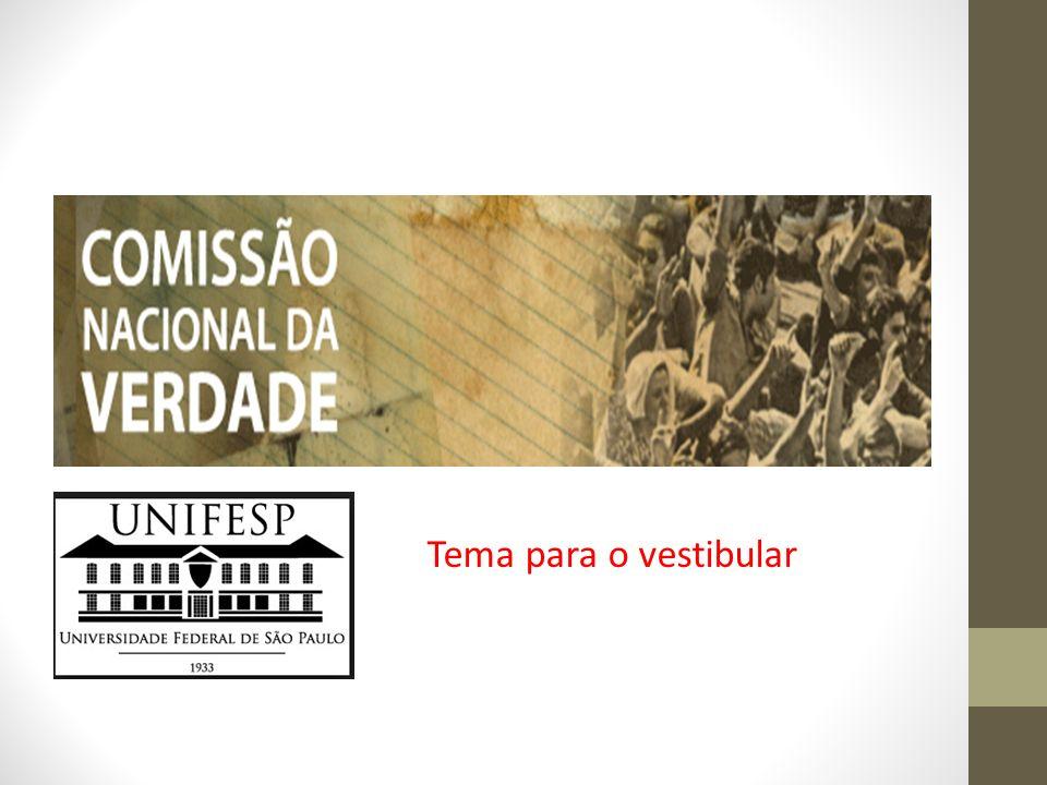 O cidadão que tem acesso à história, aos acontecimentos que envolveram sua sociedade, pode participar politicamente de forma mais legítima a implementação da Comissão da Verdade representa, no Brasil, um marco na prática da Democracia