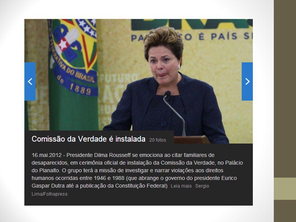 enfatizar que essa verdade não pode ser parcial, como propõe o texto 04 É um oportunidade para a sociedade brasileira, então, se faz necessário aproveitá-la de modo a levá-la a atingir os seus objetivos.