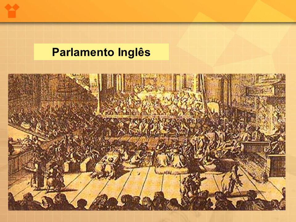 A guerra civil e a República Puritana (Protetorado de Cromwell) As forças inglesas dividiram-se em dois partidos: a) os Cavaleiros: apoiavam o Rei, eram os latifundiários católicos e anglicanos.