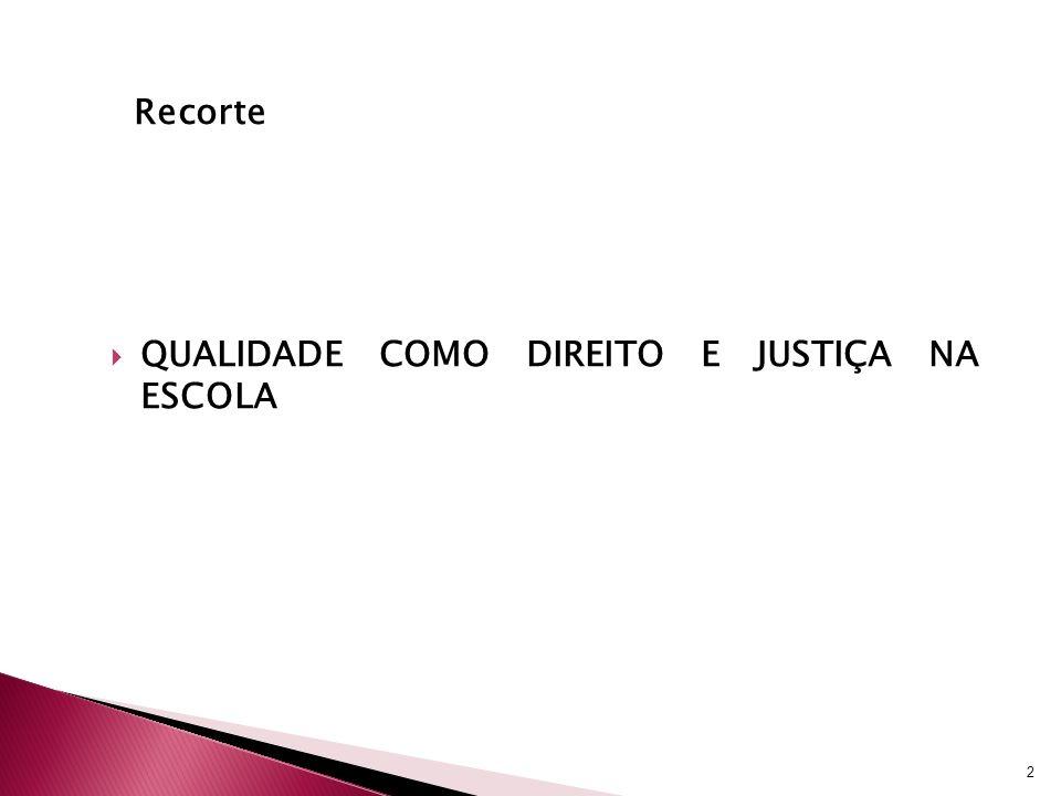 Principais conclusões A operacionalização do conceito de igualdade de base a partir dos microdados da Prova Brasil 2007 foi possível e contribuiu, de forma satisfatória, para identificar redes de ensino mais justas dentre as redes municipais do estado de São Paulo (nos anos iniciais do ensino fundamental).