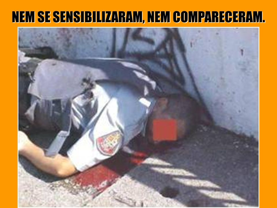 O QUE O PESSOAL DOS DIREITOS HUMANO NÃO COMENTAM. POLICIAL EXECUTADO PELO PCC, FACÇÃO CRIMINOSA EM SÃO PAULO.