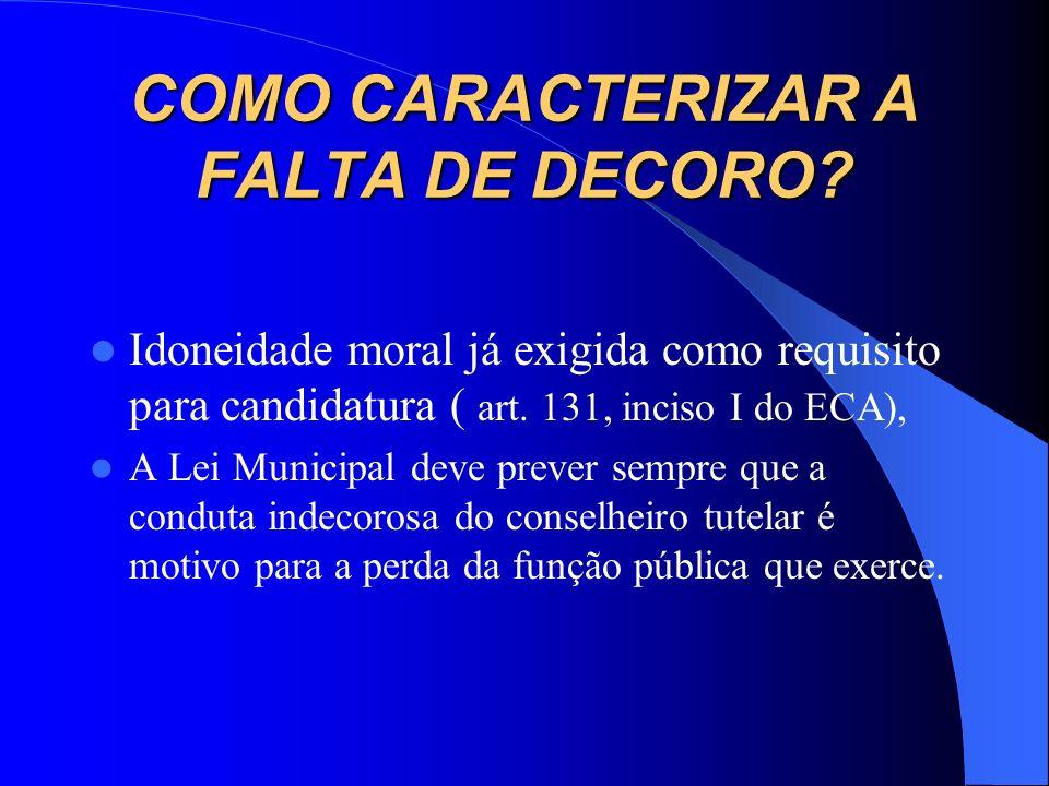 UMA VISÃO JURÍDICA DA ÉTICA DO CONSELHO TUTELAR