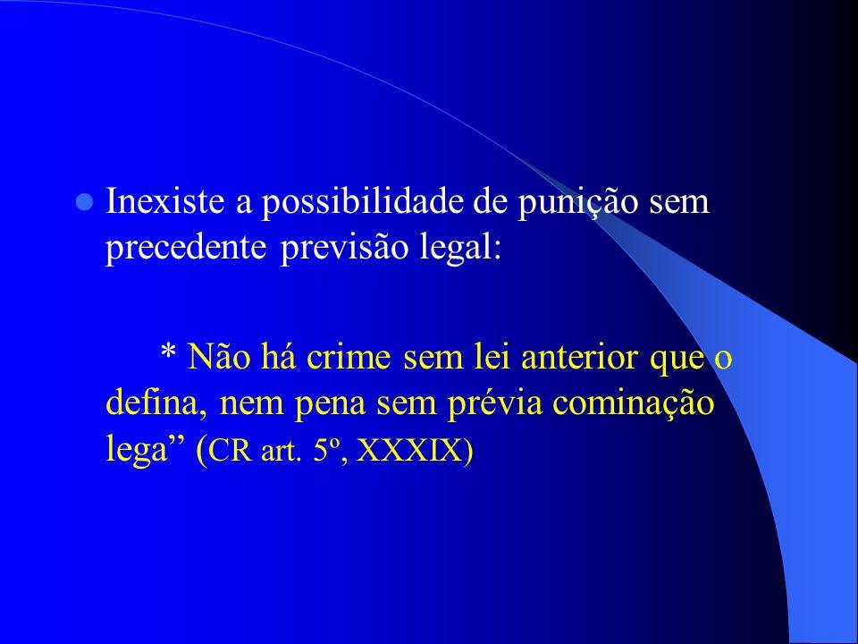 COMO APURAR A FALTA DE DECORO Previsão em Lei Municipal Princípio da legalidade que vigora no sistema jurídico brasileiro: * ninguém será obrigado a f