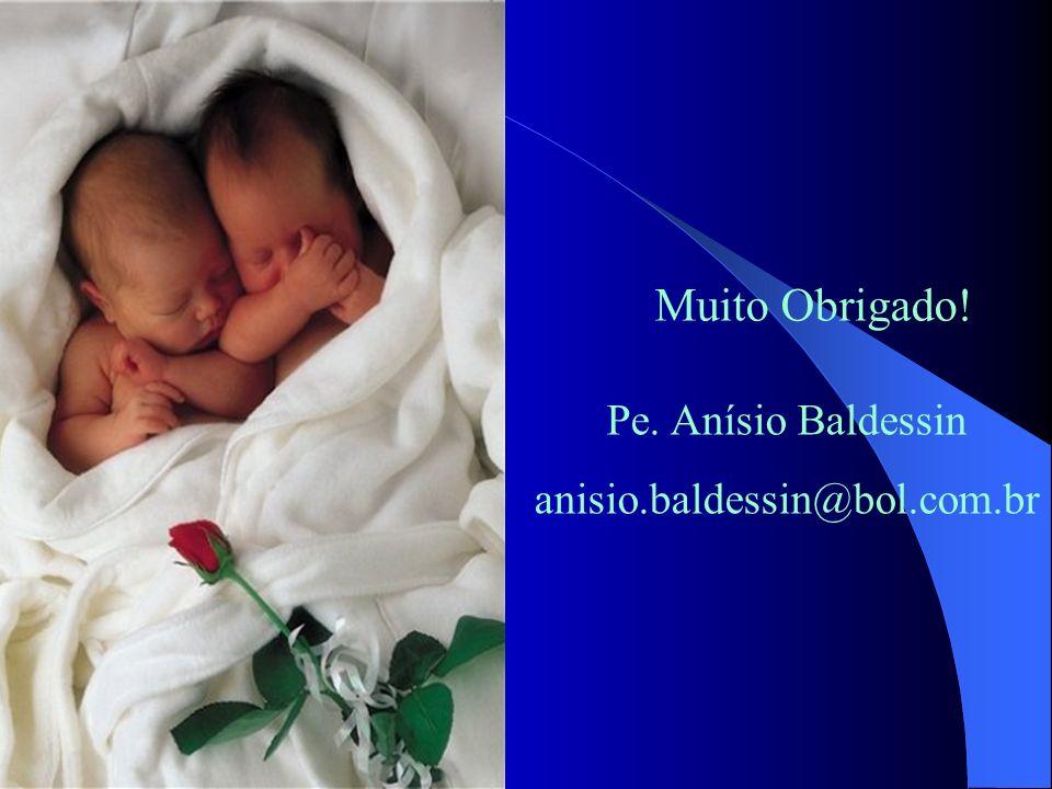 Muito Obrigado! Pe. Anísio Baldessin anisio.baldessin@bol.com.br
