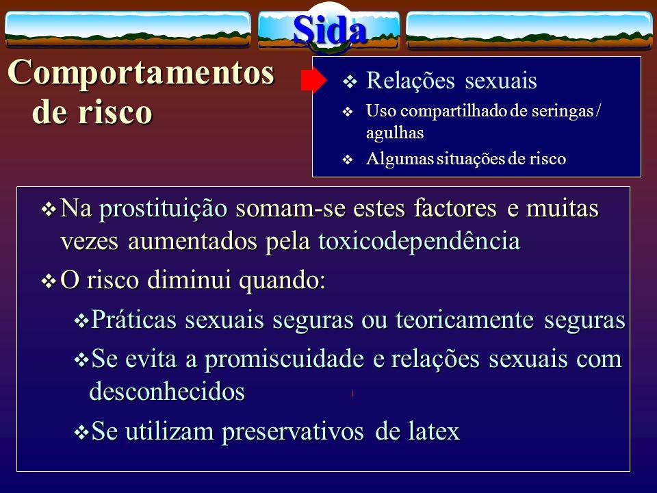 Na prostituição somam-se estes factores e muitas vezes aumentados pela toxicodependência Na prostituição somam-se estes factores e muitas vezes aument